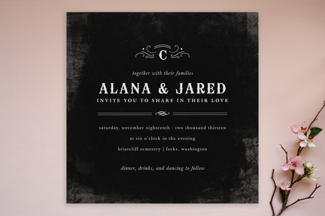 After Sunset Wedding Invitations by Kristen Smith