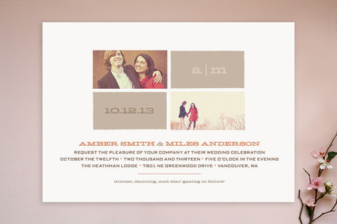 Star Gazing Wedding Invitations by Carolyn MacLare...