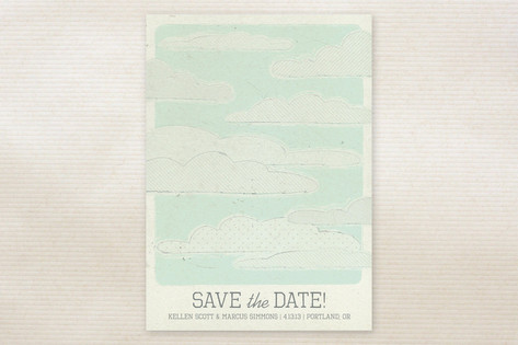 Sweetly Adrift Save the Date Cards by jenincmyk