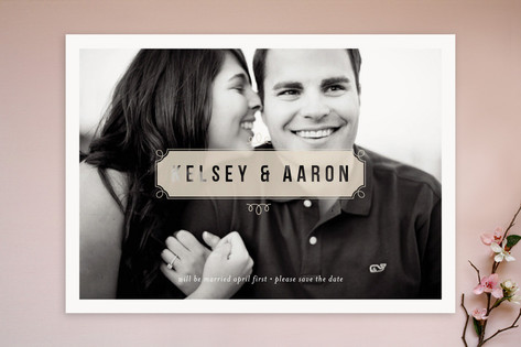 Vintage Street Sign Save the Date Cards by kelli h...