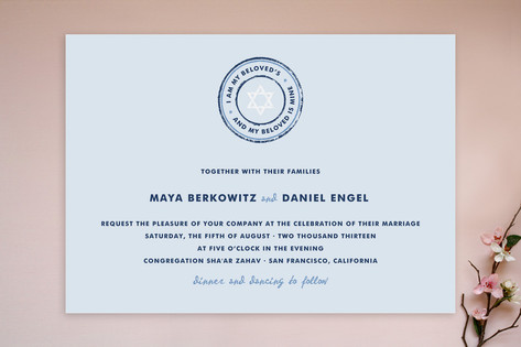 Beloved Wedding Invitations by Paper Dahlia