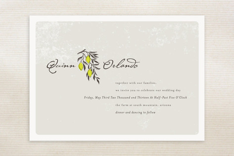 The Grove Wedding Invitations by Design Lotus