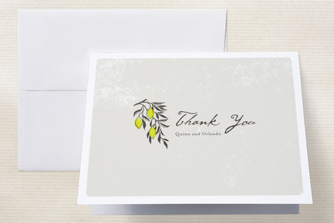 The Grove Thank You Cards by Design Lotus