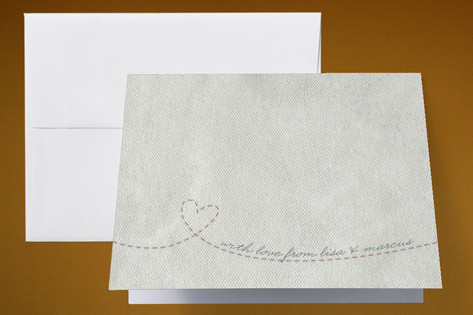 Memento Thank You Cards by Erin Pescetto