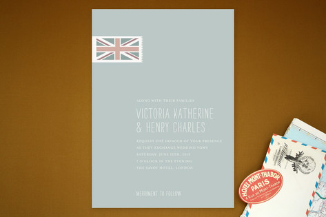 Perfect Union Wedding Invitations by Stacey Hill