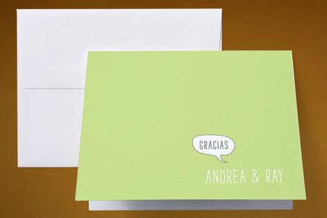 Translation Destination Thank You Cards by Erin Pe...