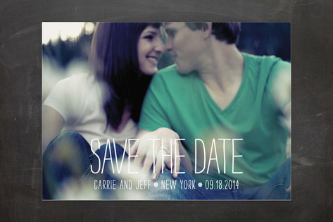 Happiest Homestyle Save the Date Cards by Max and ...