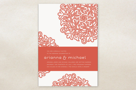 Love Blossoms Wedding Invitations by guess what