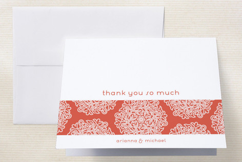 Love Blossoms Thank You Cards by guess what