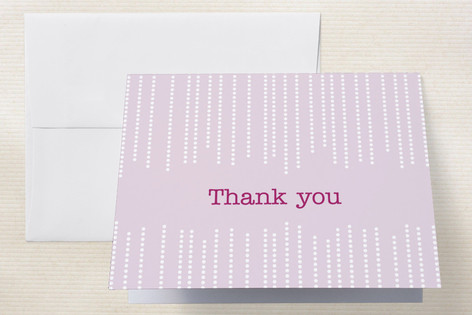 Star Dust Thank You Cards by Heather Wullenweber