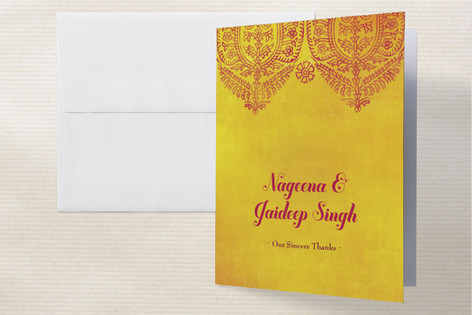 Anand Karaj Thank You Cards by Ann Gardner