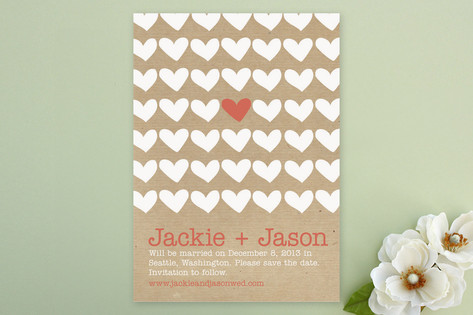 A Joyful Heart Save the Date Cards by Kristin Scul...