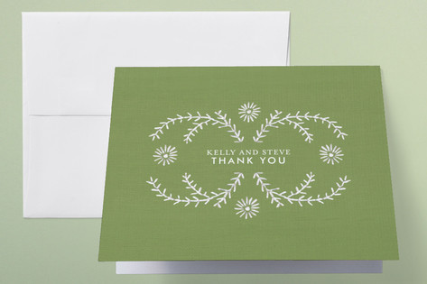 Ties that Bind Thank You Cards by Sandy Pons