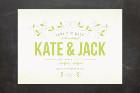Twine Save the Date Cards by SunnyJuly