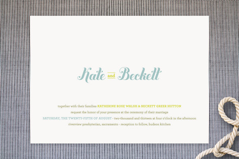 Buttery Wedding Invitations by stacey day