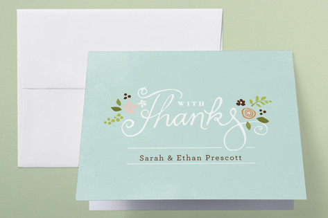 A More Perfect Union Thank You Cards by Jennifer W...