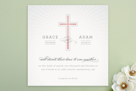 Vow Wedding Invitations by Erin Pescetto