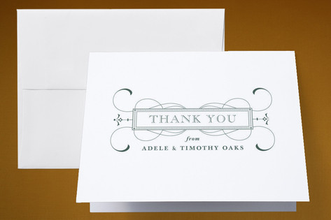 Tea and Topo Thank You Cards by Sydney Newsom
