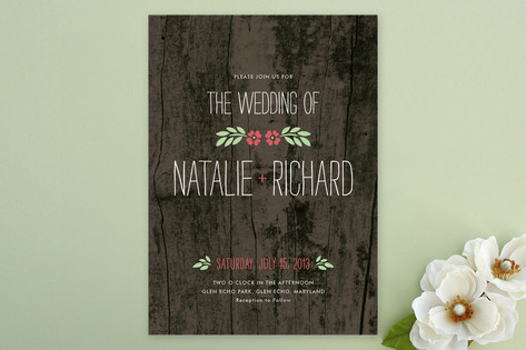 In the Park Wedding Invitations by Amanda Larsen D...