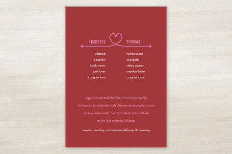 Celebrate Your Differences Wedding Invitations by ...