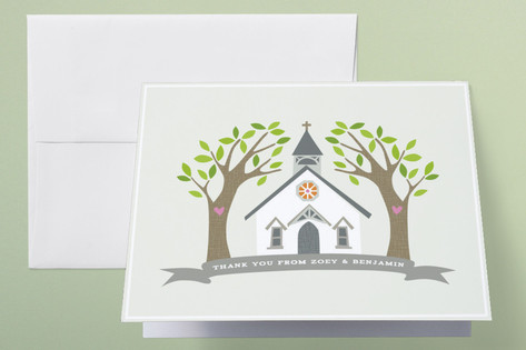 Going to the Chapel Thank You Cards by Griffinbell...