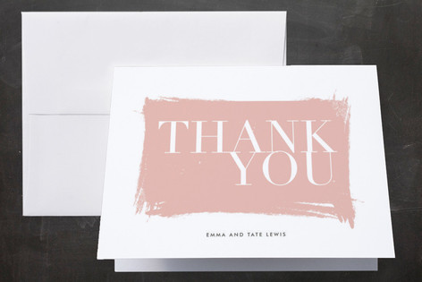 Gallery Hopping Thank You Cards by annie clark
