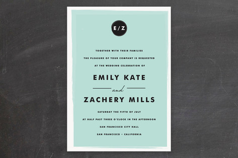 Retro Charm Wedding Invitations by annie clark