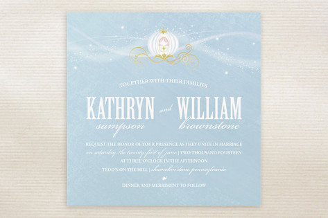 Cinderella Wedding Invitations by Jacqueline Dziad...