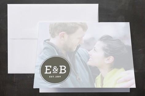 Established Thank You Cards by b.wise papers
