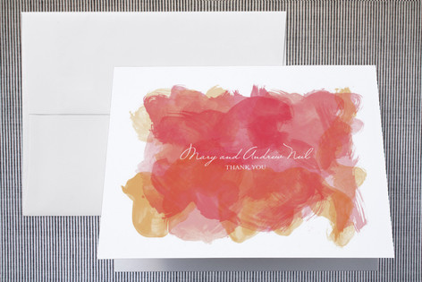 Aquarelle Thank You Cards by Paper Plains