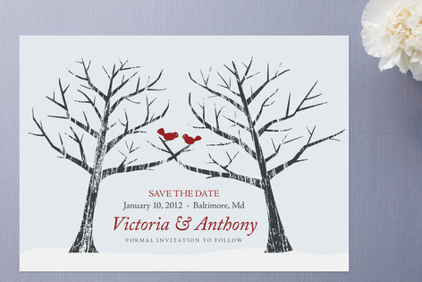 Together at Last Save the Date Cards by Juniper Be...