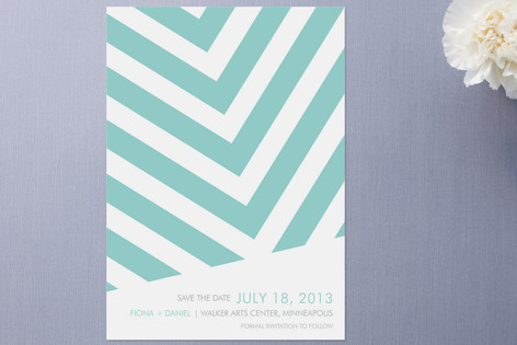 Fracas Save the Date Cards by Paper Plains