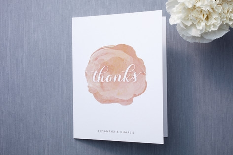 Modern Bloom Thank You Cards by Hooray Creative