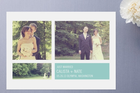 Modern Geometric Group Wedding Announcements by Pr...