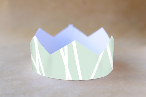 Modern Mint Party Crowns