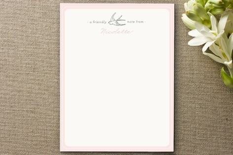 Mon Ami Personalized Stationery by Design Lotus