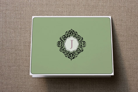 Monogram Personalized Stationery by SunnyJuly