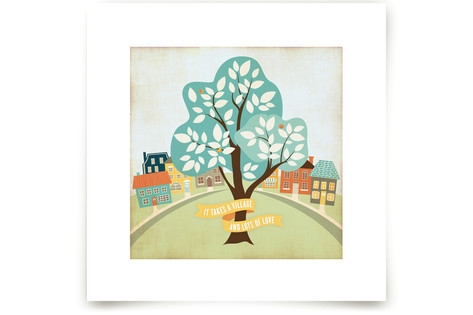 More Than A Village Art Prints
