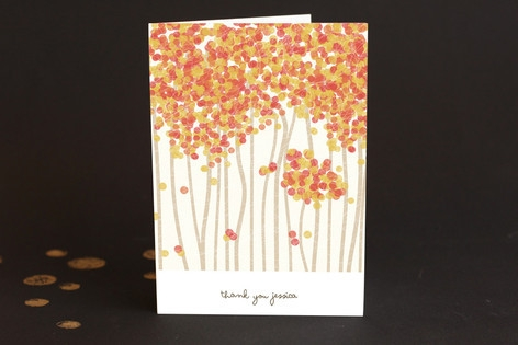 Nature's Confetti Adult Thank You Greeting Cards...