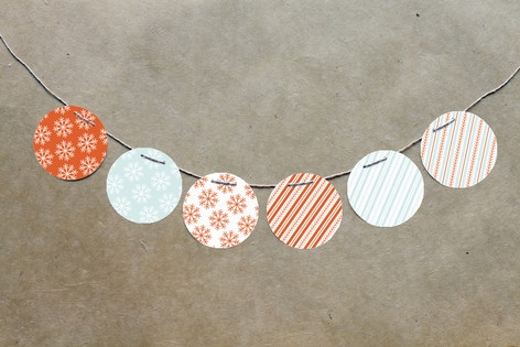 Nordic Joy Circle Garlands by Laura Hankins