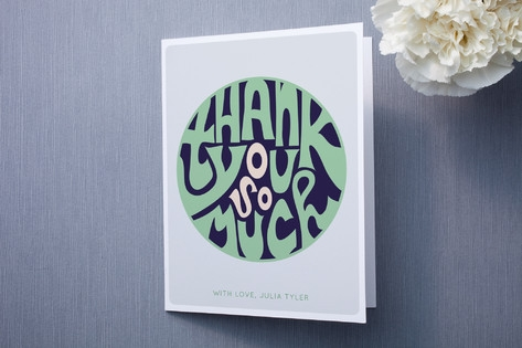 O So Much Thank You Cards by Monica Schafer