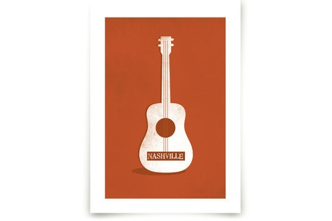 Ole Nashville Art Prints