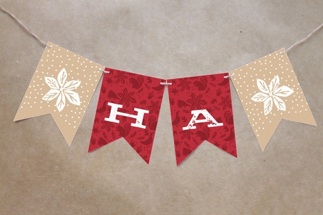 Pastoral Noel Bunting Banners by Griffinbell Studi...