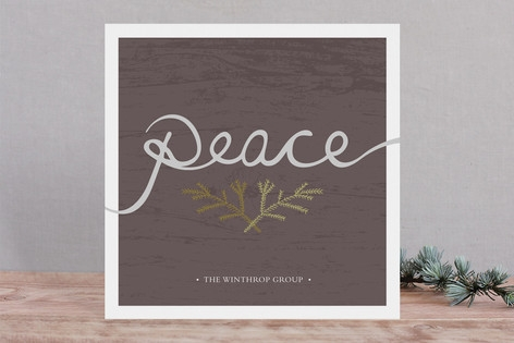 Peace Business Holiday Cards