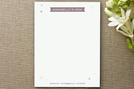 Pretty Playdate Business Stationery Cards