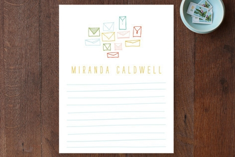 Pretty Post Personalized Stationery by Lisa Nelson
