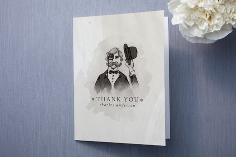 Proper Thanks Thank You Cards by Pistols