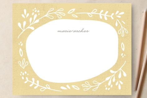 Provencale Summer Personalized Stationery by kelli...
