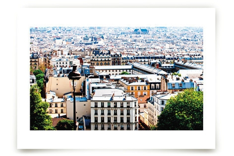 Rooftops of Paris Art Prints
