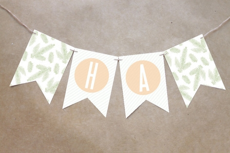Rose Colored Glass Bunting Banners by kelli hall